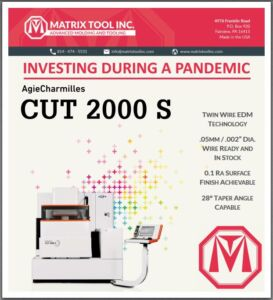 Matrix Tool Invests During a Pandemic!