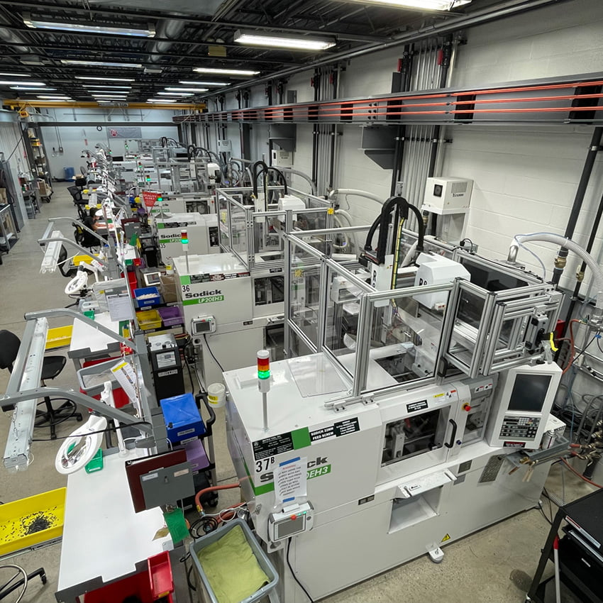Micro Injection Molding Room